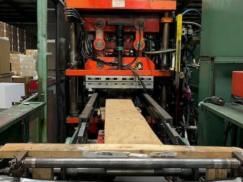 used sentinel brand 2500 cip inline form and stack thermoformer