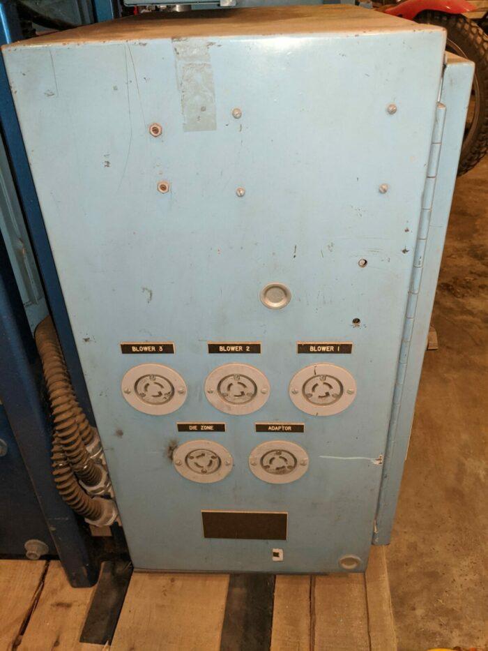 "used 1"" davis standard single screw extruder"