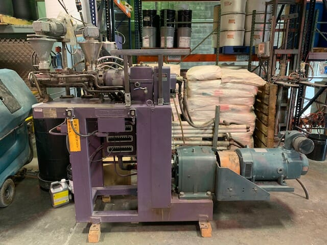 used 46mm buss model a1098 kneader