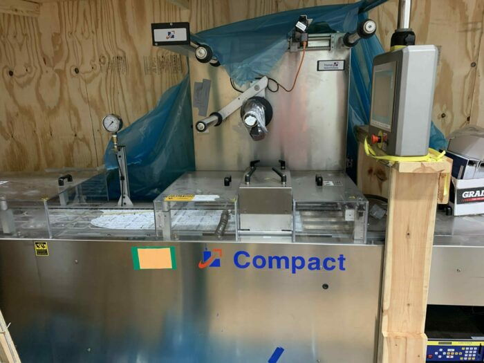 used cfs compact m320 tiromat thermoformer
