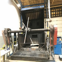 Rotational Molding Machines | Clam Shell