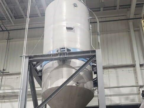 used wellsun 15t/b batch ssp crystallizer system