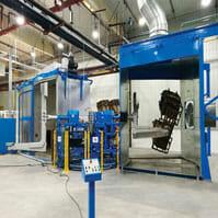 Rotational Molding Machines | Rotating Arm
