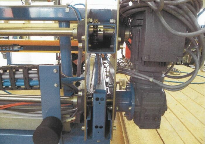 used alba chain driven conveying system
