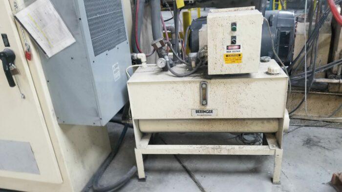"""used cincinnati milacron pet 60"""" sheet extrusion line with 6"""" single screw extruder"""