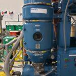 used 120 lb/hr novatec cdm-120 dryer system