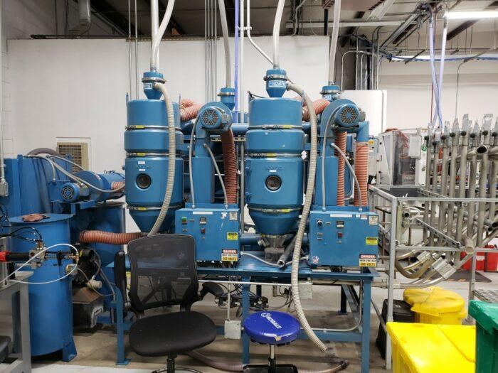 Used 120 lb/hr Novatec CDM-120 Dryer System 1 Used 120 lb/hr Novatec