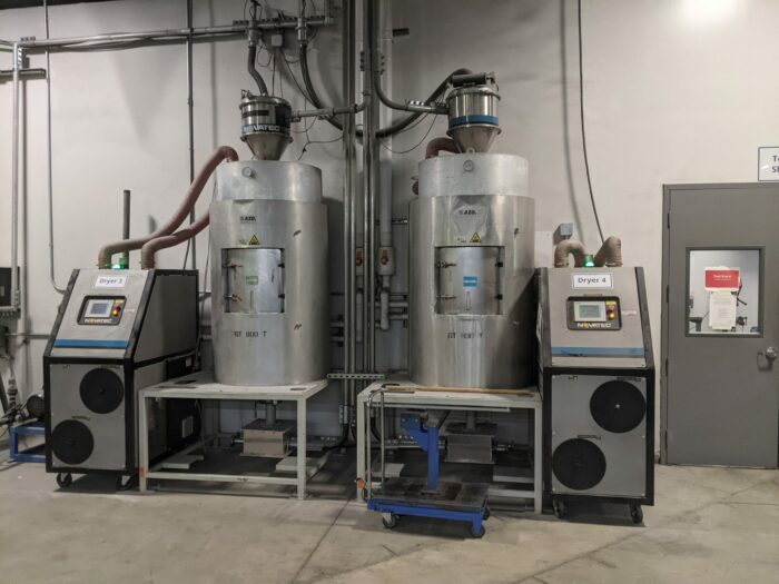 used novatec nw-200n-a dryer system
