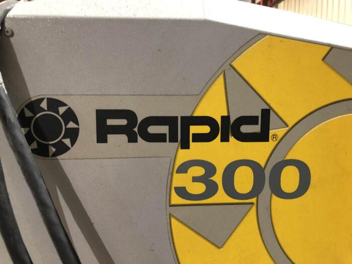 used 7.5 hp rapid 300 series granulator
