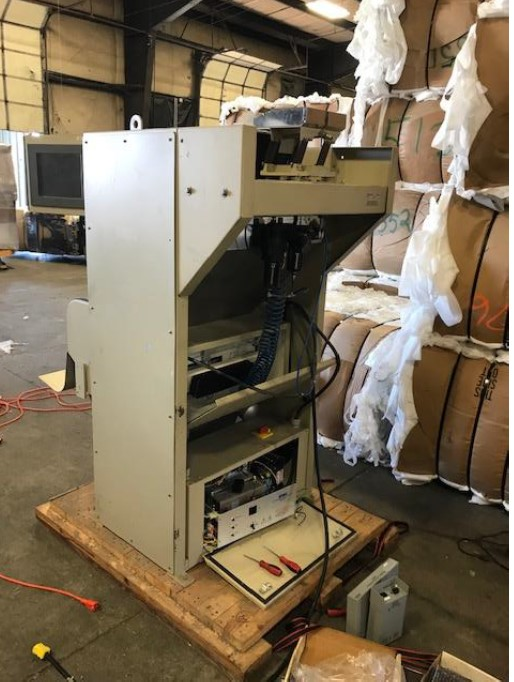 used satake smii-200ie sorting system