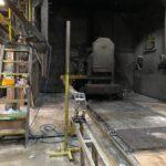 used shuttle rotational molding machine