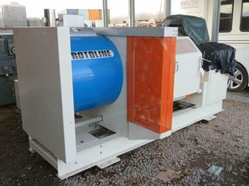 used rotoline 0.50 lab rotational molding machine