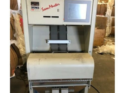 used satake smii-200ie optical sorting system