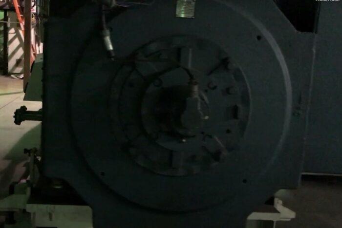 used 170mm mitsubishi 1,000 hp 17:1 l/d single screw extruder