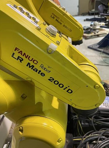 used fanuc lr mate 200id 6-axis robot