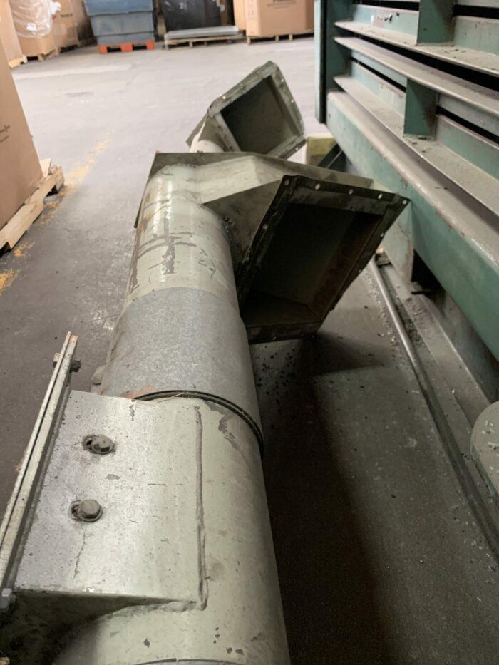 used 5 hp auger conveyor