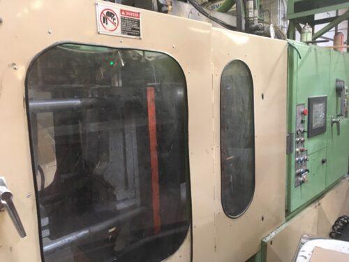 used hayssen 50d375 dual accumulator head blow molding machine