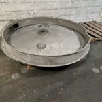 "used 72"" kason single deck circular vibratory screener"