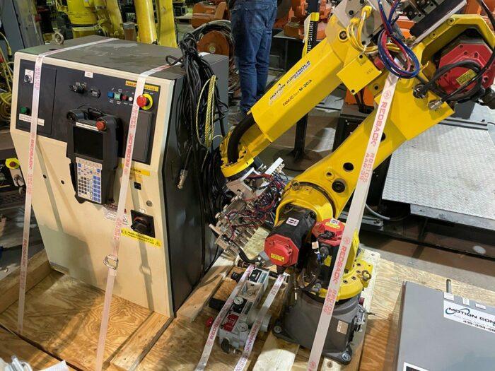 used fanuc m20ia 6-axis robot