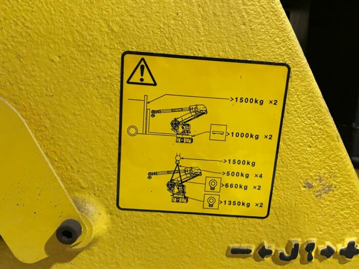 used fanuc s-500ib 6-axis robot