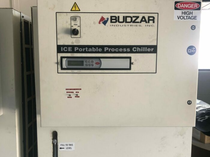 used 15 ton budzar air cooled chiller