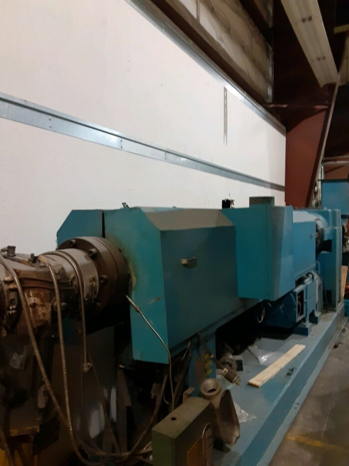 """Used 4.5"""" 250 HP Sterling 30:1 L/D Single Screw Extruder 1 250 HP Sterling"""