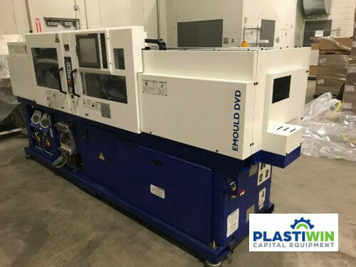 used 50 ton singulus emould all electric injection molding machine