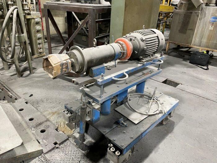 used gala 7 mup pelletizing system