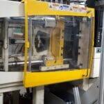 used 120 ton dima dmt120 injection molding machine