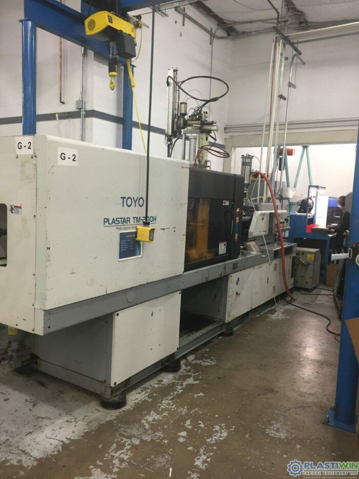 200 Ton Toyo 200H Injection Molding Machine 1 200 Ton Toyo 200H Injection Molding Machine