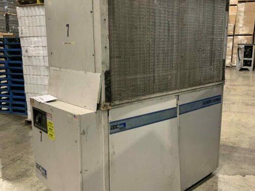 used 20 ton aec nxga-20 air cooled chiller