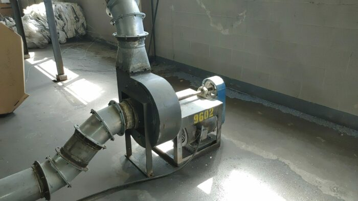 used 40 hp cumberland model 3kn-1620 granulator