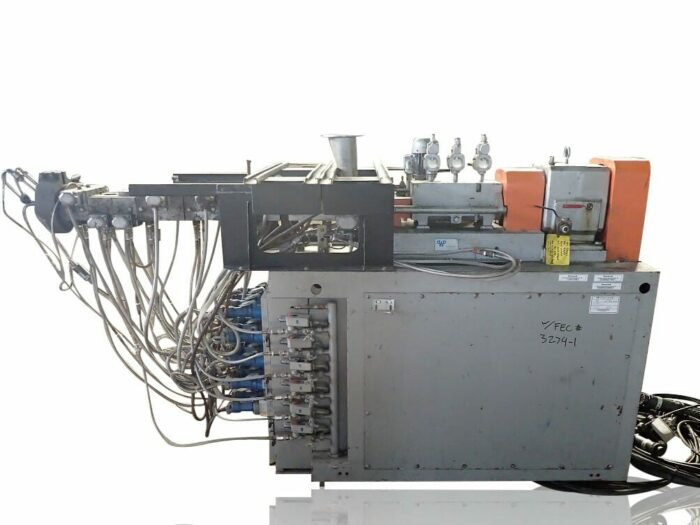 used 30mm werner and pfleiderer zsk-30 twin screw extruder