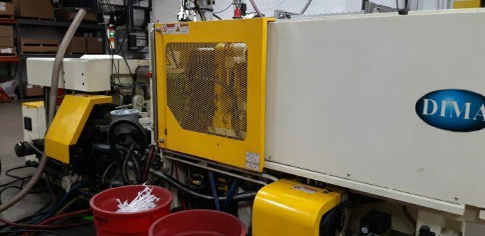 Used 120 Ton DIMA DMT120 Injection Molding Machine 1 Used 120 Ton DIMA DMT120