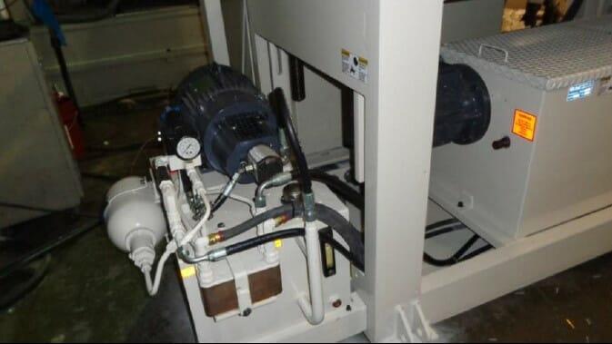 rebuilt bekum h-111 blow molding machine