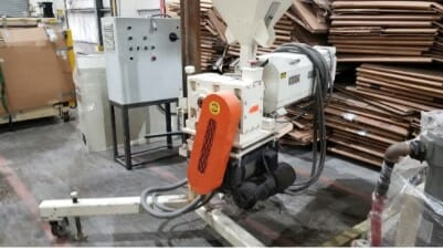 """used 2.5"""" nrm pacemaker davis co-extruder sheet extrusion line"""