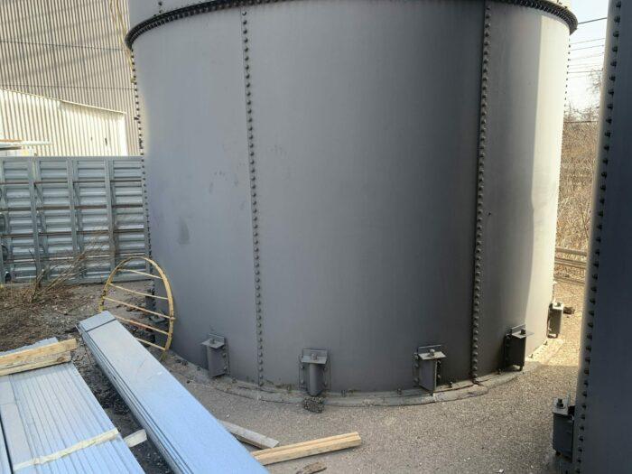 used 12' x 60' silo