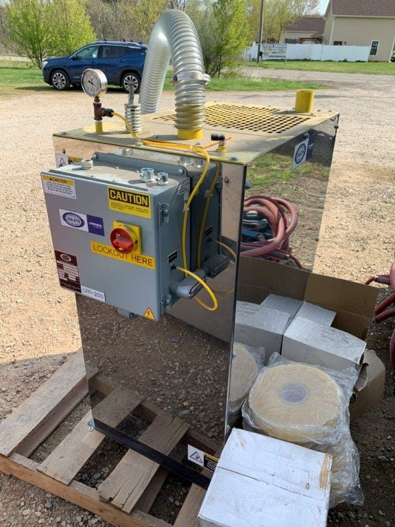 used 7.5 hp una-dyn powermax vacuum pump