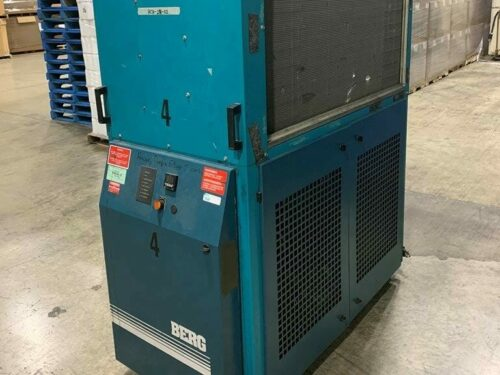 used 10 ton berg pa-10 air cooled chiller