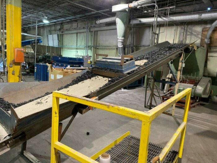 "used 28"" x 270"" conveyor"
