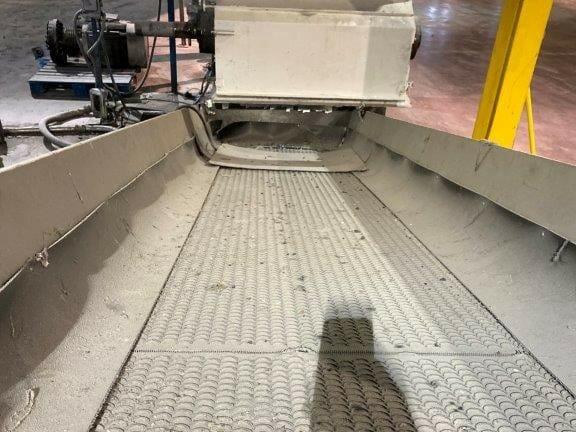 "used 38"" x 13' discharge conveyor"