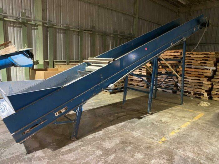 "used 36"" wide incline conveyor"