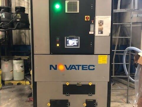 used novatec nw-600nc novawheel desiccant wheel dryer