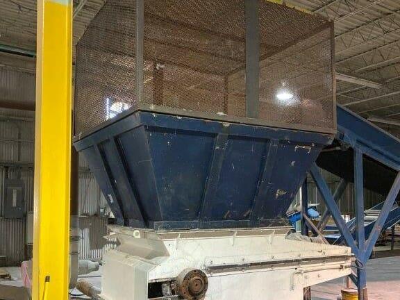 used 100 hp vecoplan shredder