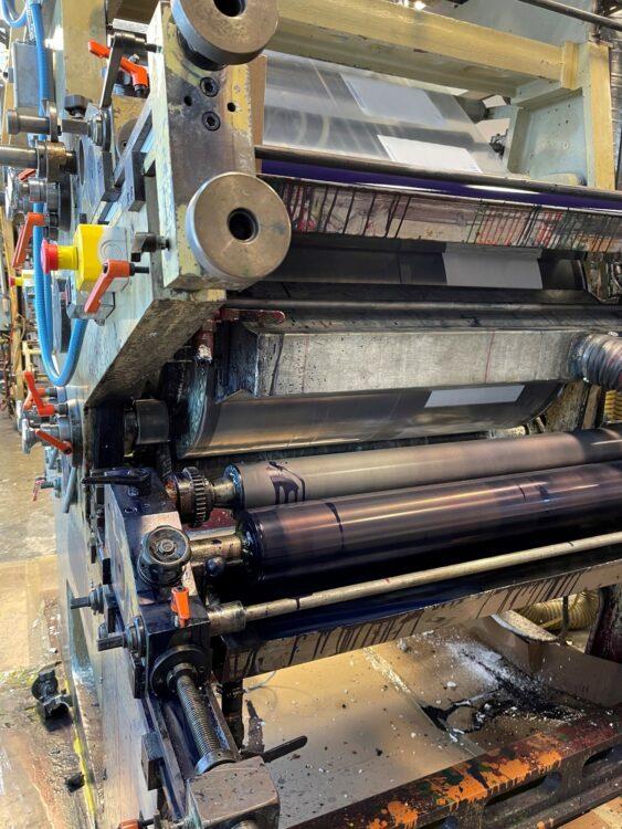 "Used 40"" Wide Condes Corporation CI Film Printing Press 1 Condes Corporation CI"