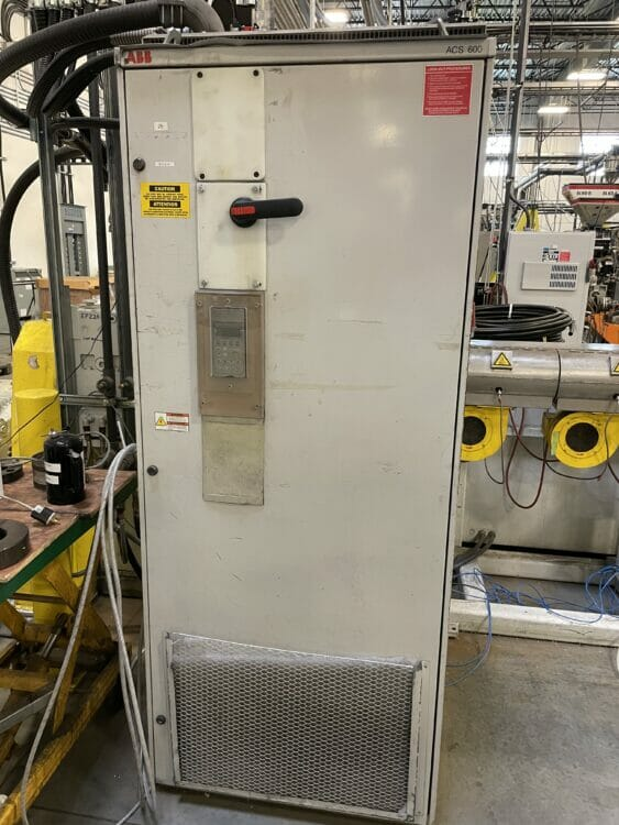 """Used 3"""" 35:1 L/D American Maplan Single Screw Extruder 1 American Maplan"""