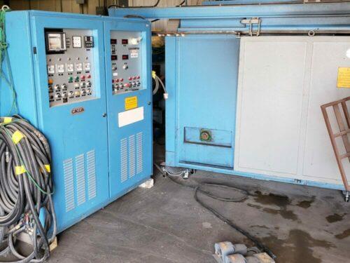 used caccia rotaut/a-1-1200 rotational molding machine