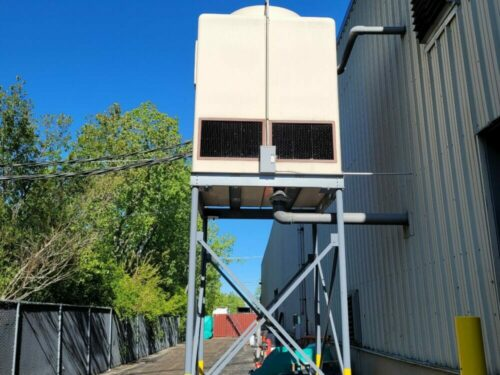 used 135 ton advantage cooling tower