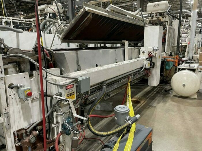 used lyle 130fh inline thermoformer