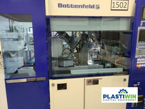used battenfeld microsystem50 mm50/50 injection molding machine